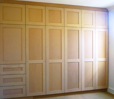 handmade fitted bedroom cabinets wanstead london