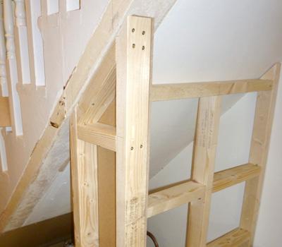 Bespoke Understair Cupboard Meyer Woodwork